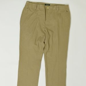 Ralph Lauren Plus 16W Beige   Straight Cotton Blen